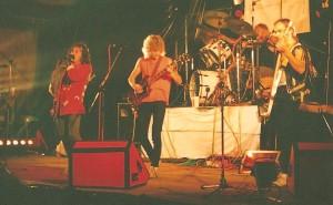1. Gig mit Byrness in der Finkenhalle 1988