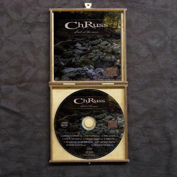 ChRuss - CD in edler Holzbox eingelegt