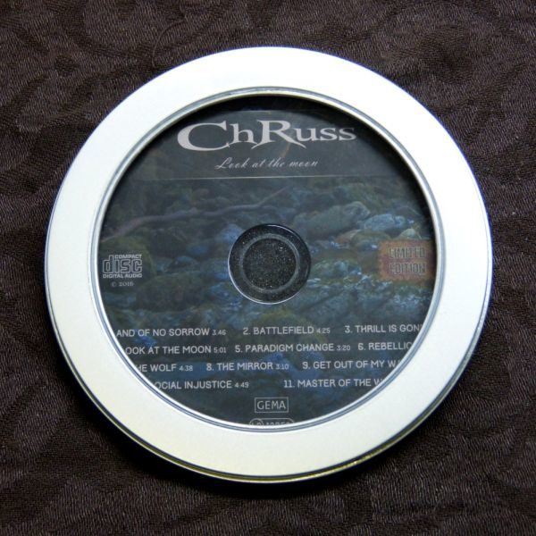 ChRuss - CD in runder Metalldose